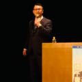 橋下徹氏が福岡で講演「民間の立場で憲法改正による道州制めざす」